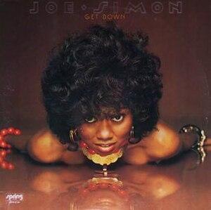 Get Down (album) - Image: Joe Simon Get Down album