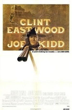 Joe Kidd - Film poster by Bill Gold