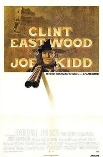 Joe Kidd - Film poster by Bill Gold