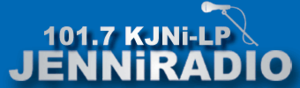KJNI-LP - Image: KJNI LP radio logo