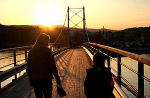 Sandvika - Image: Kalvoen