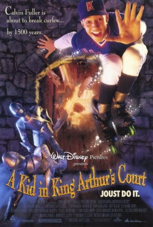 A Kid in King Arthur's Court - Theatrical release poster