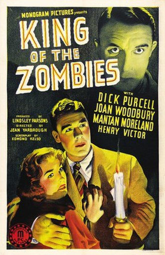 King of the Zombies - Promotional release poster