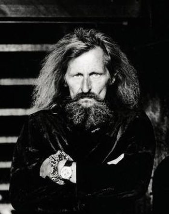 Klaus Dinger in 2000. Photo by Anton Corbijn.