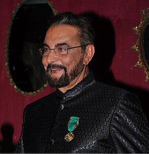 Kabir Bedi - Kabir Bedi after receiving his knighthood.