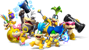 Koopalings - Image: Koopalings New Super Mario Bros U