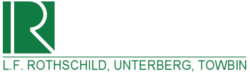 L.F. Rothschild, Unterberg, Towbin Logo, used during the 1980s