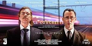 """La Couchette - A poster for """"La Couchette"""", with the tagline """"In deuxiéme classe, everyone can hear you scream..."""""""