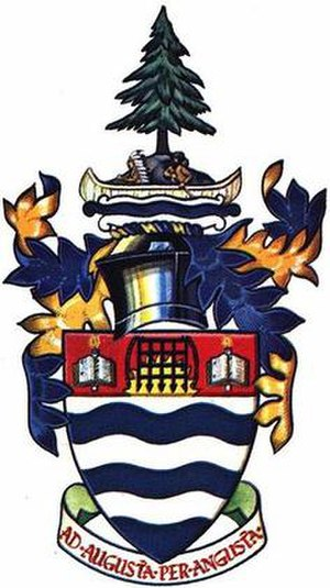 Lakehead University - Image: Lakehead U Coat of Arms