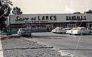 Lane Drug - Image: Lanes Westgate 1965