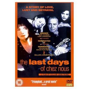 The Last Days of Chez Nous - Region 2 DVD cover