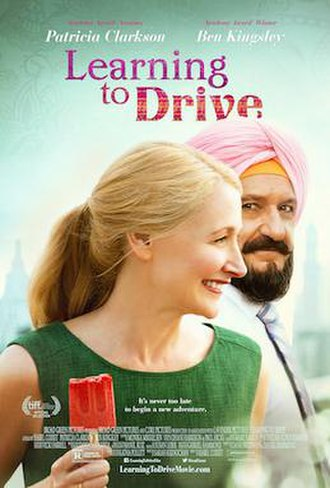 Learning to Drive (film) - Theatrical release poster