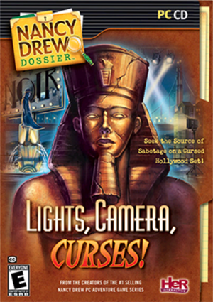 Nancy Drew Dossier: Lights, Camera, Curses - Image: Lights, Camera, Curses Coverart