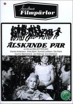 Loving Couples (1964 film) - Swedish cover
