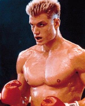 Ivan Drago - Portrait of Dolph Lundgren as Ivan Drago