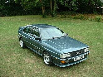 Audi Quattro - 1987 MB-engined Audi quattro
