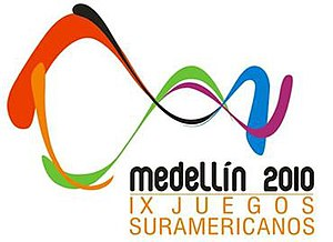 2010 South American Games - Image: Medellin 2010 logo
