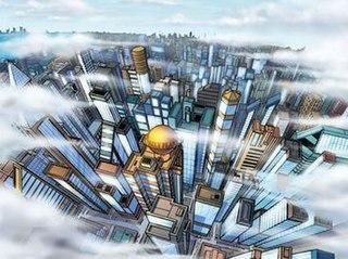 Metropolis (comics) fictional city in the DC Universe