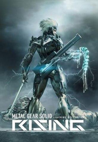 Metal Gear Rising: Revengeance - A promotional render of Metal Gear Solid: Rising