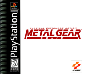 Metal Gear Solid - North American box art