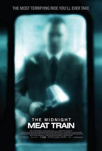 The Midnight Meat Train - Theatrical release poster