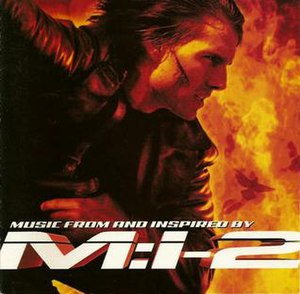 Mission: Impossible 2 (soundtrack) - Image: Mission impossible 2
