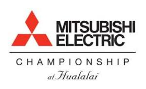 Mitsubishi Electric Championship at Hualalai - Image: Mitsubishi Electric Championship logo
