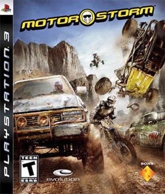 MotorStorm - Image: Motorstormcover