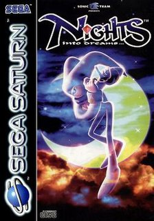 <i>Nights into Dreams</i> 1996 action game
