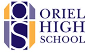 Oriel High School - Image: Ohs logo