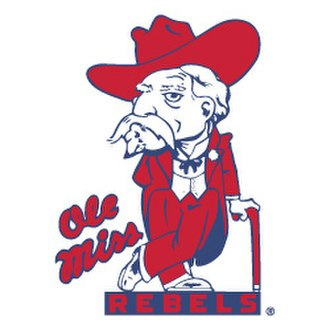 "Colonel Reb - Ole Miss ""Colonel Rebel"" logo"