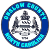 Official seal of Onslow County