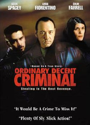 Ordinary Decent Criminal - DVD case cover for Ordinary Decent Criminal