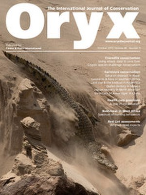 Oryx (journal) - Image: Oryx cover