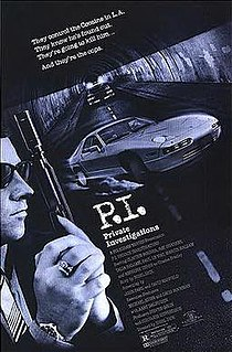 <i>P.I. Private Investigations</i> 1987 film by Nigel Dick