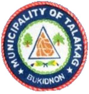 Talakag, Bukidnon - Image: Ph seal bukidnon talakag