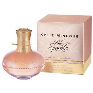 "Kylie Minogue products - Kylie Minogue's perfume ""Pink Sparkle"""