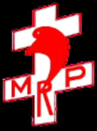 Popular Republican Movement - Image: Popular Republican Movement logo