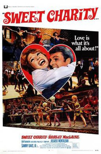 Sweet Charity (film) - theatrical release poster