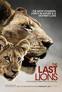 <i>The Last Lions</i> 2011 film