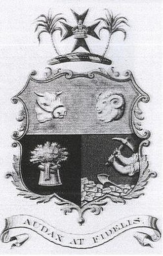 Coat of arms of Queensland - Image: QLD Coatof Arms 3