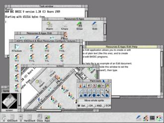 RISC OS - Image: RISCOS 4 scr