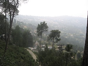 Ranikhet - Ranikhet on foggy September morning