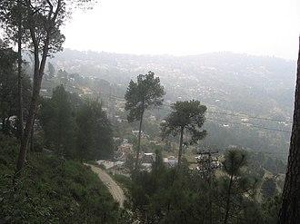 Ranikhet - Ranikhet on foggy September morning