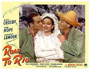 Road to Rio - Lobby card