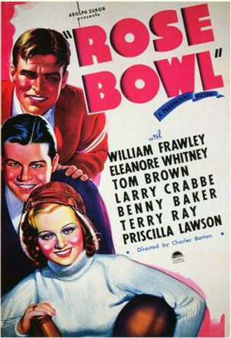 Rose Bowl (film) - Theatrical release poster