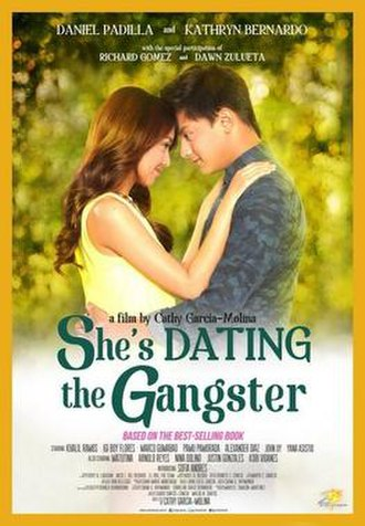 She's Dating the Gangster - Theatrical movie poster