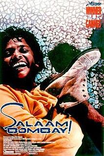 <i>Salaam Bombay!</i> 1988 film by Mira Nair