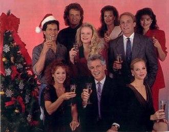 Santa Barbara (TV series) - Cast on Christmas 1989 Cruz Castillo, Mack Blake, Eden Capwell, Julia Wainwright, Mason Capwell, Sasha Schmidt, Augusta Lockridge, C.C. Capwell, Kelly Capwell