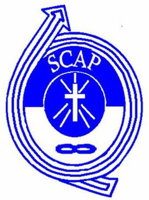 The SCA Philippines logo
